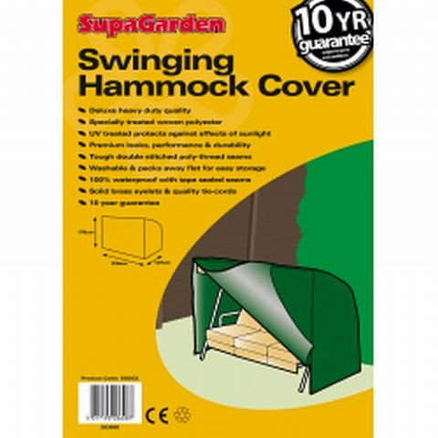 Heavy Duty Swinging Hammock Cover - 10 Year Guarantee